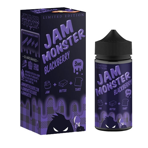 Jam Monster blackberry vape juice