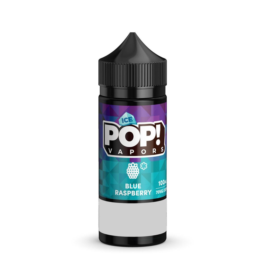 POP Iced Blue Raspberry eliquid 100ml sydney