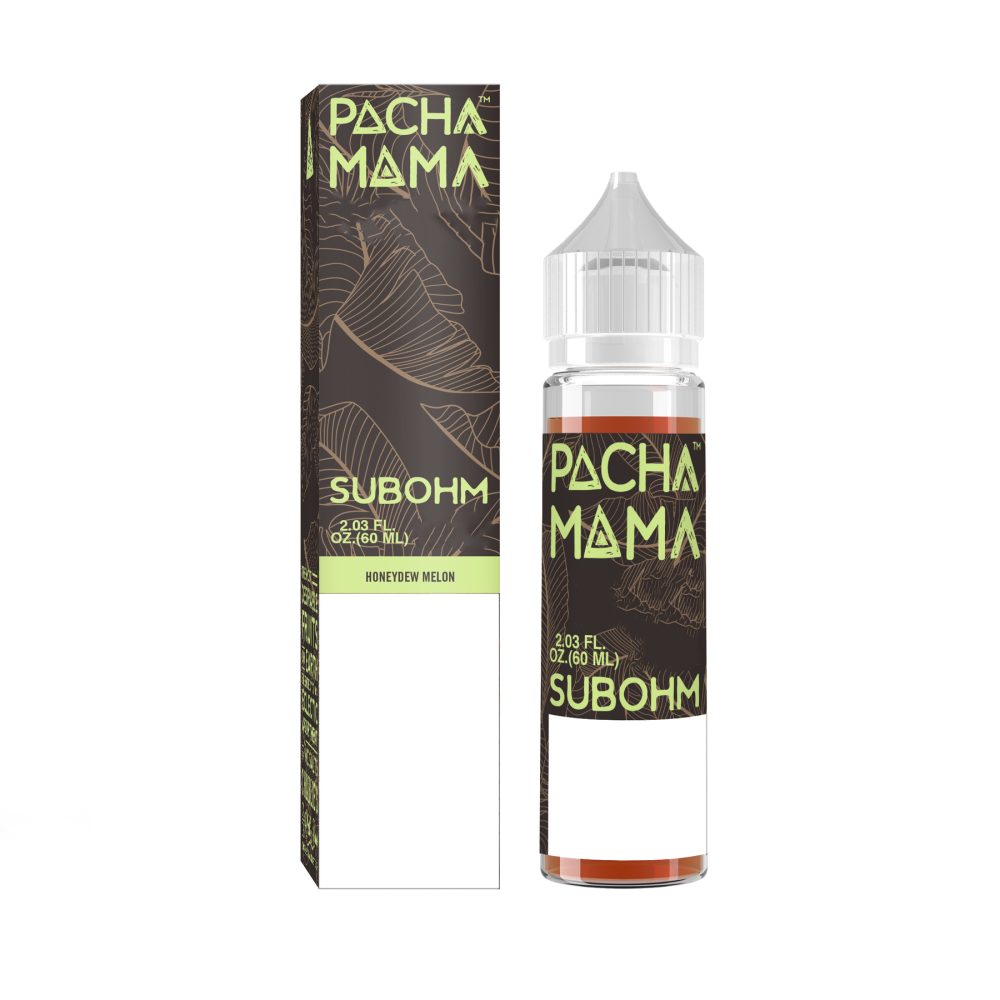 Pachamama Subohm Honeydew Melon eliquid ejuice 60ml sydney