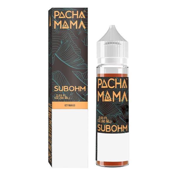 Pachamama Subohm Icy Mango eliquid ejuice 60ml sydney