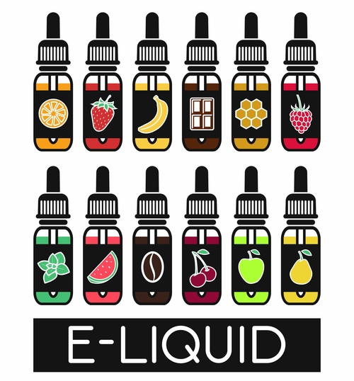 Fruit e-liquid Juice