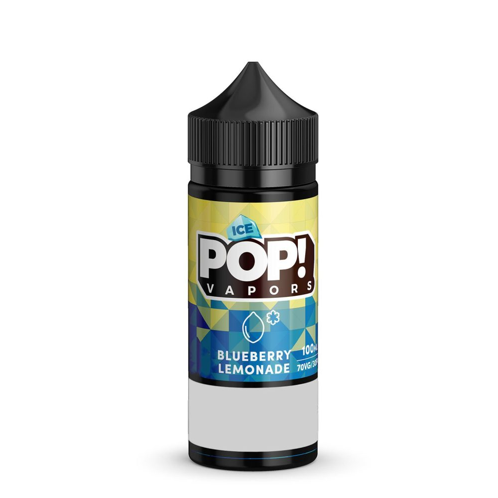 Pop! Vapors Iced - Blueberry Lemonade 100ml