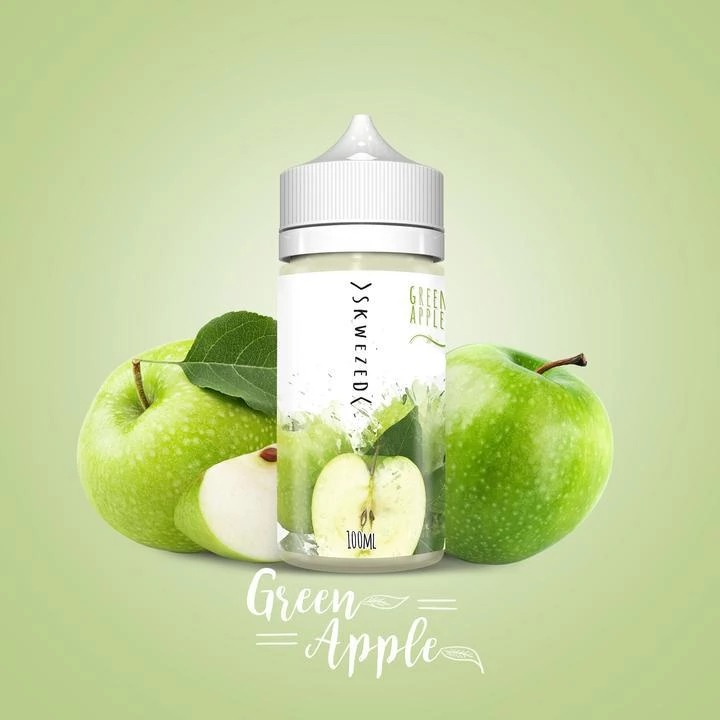 Green Apple Ejuice by Skwezed