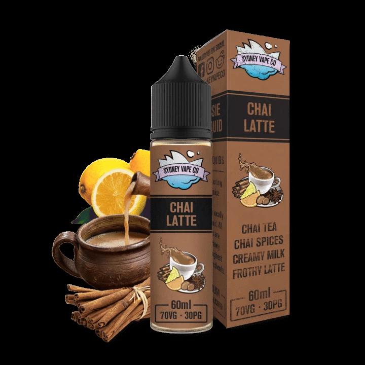 Chai Latte by Sydney Vape Co