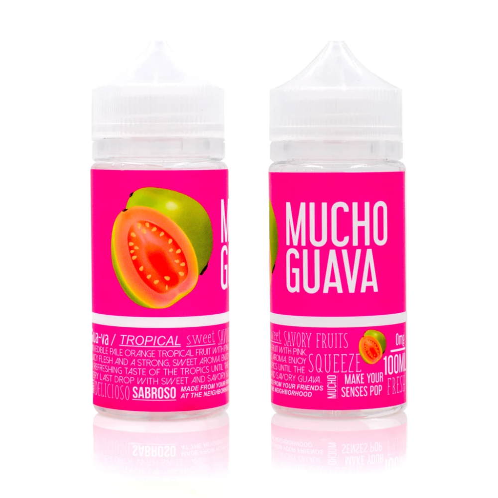 MUCHO Ejuice Guava by The Neighborhood