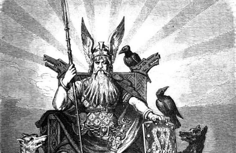 Odin Raven by Vapoureyes