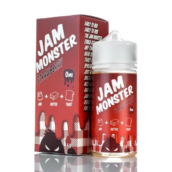 Strawberry e-Liquid Juice - Jam Monster