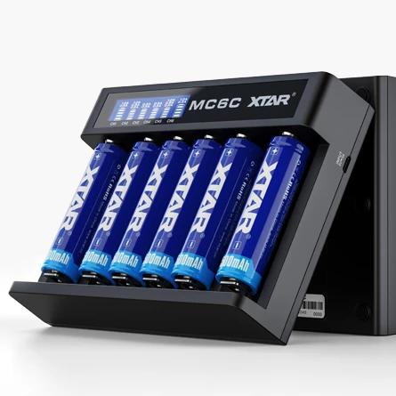 XTAR MC6C Battery Charger