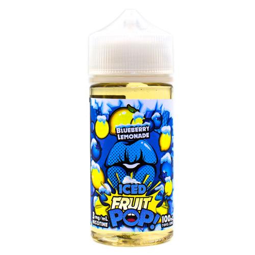 Blueberry Lemonade Fruit Pop! Iced